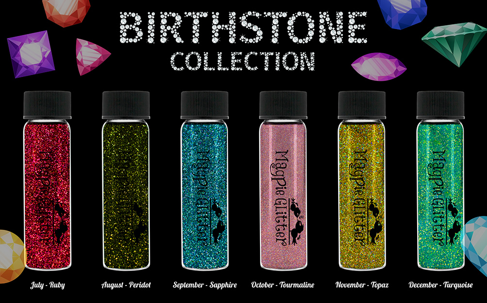 Magpie Birthstone Collection - July to December