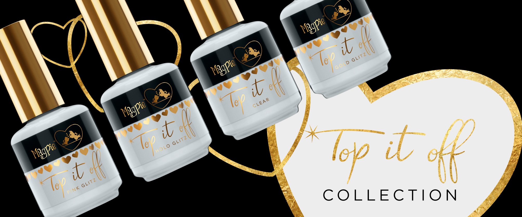 Magpie Gel Colour - Top It Off Collection