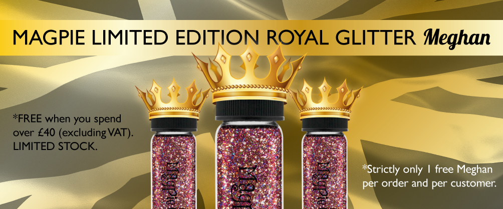 Magpie Limited Edition Royal Glitter Meghan