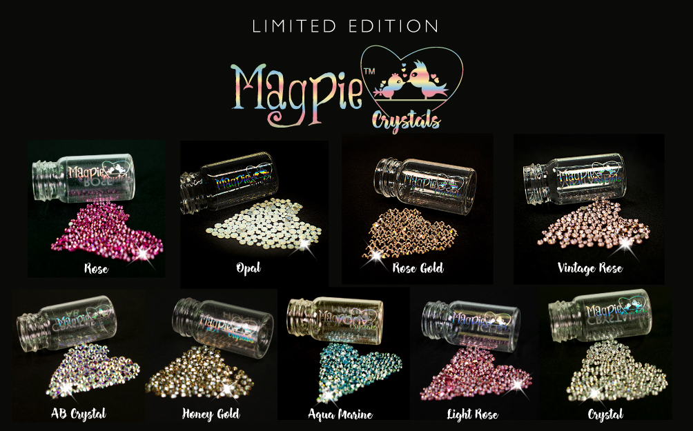 Limited edition Magpie Crystals