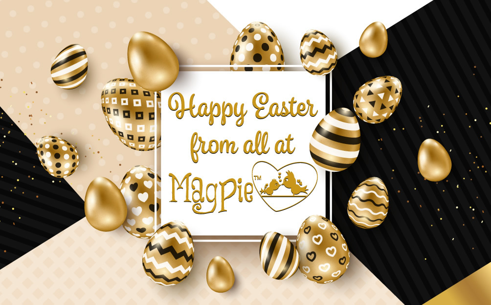 Happy Easter from Magpie Beauty