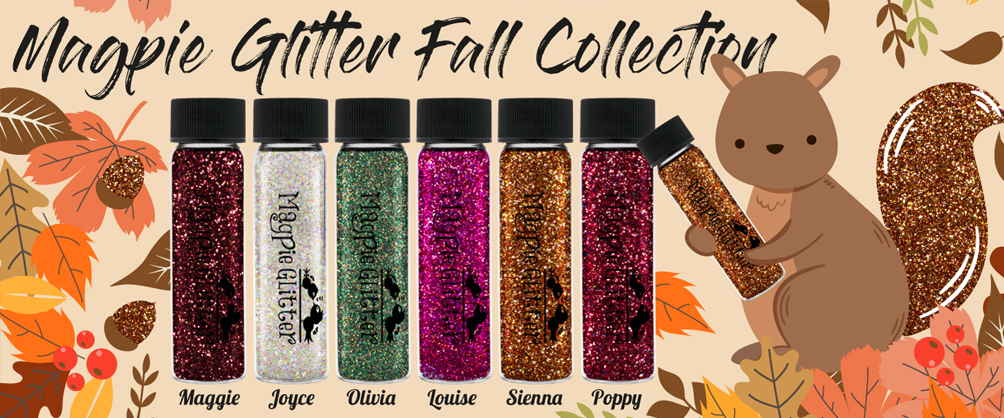 Magpie Fall Glitter Collection