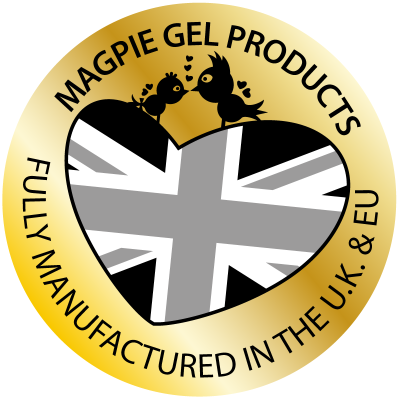 Magpie Gel Products - Fully Manufactured in the UK and EU